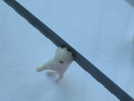 Шарнирная кукла из папье-маше. Мастер-класс
