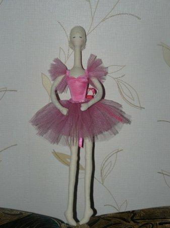 Мастер класс Балерины тряпиенс