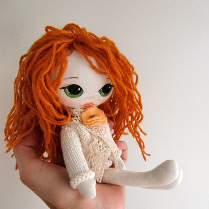 Волосы кукле своими руками мастер класс фото 131