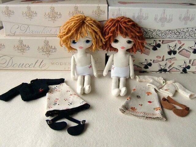 Как сделать куколок для куколок