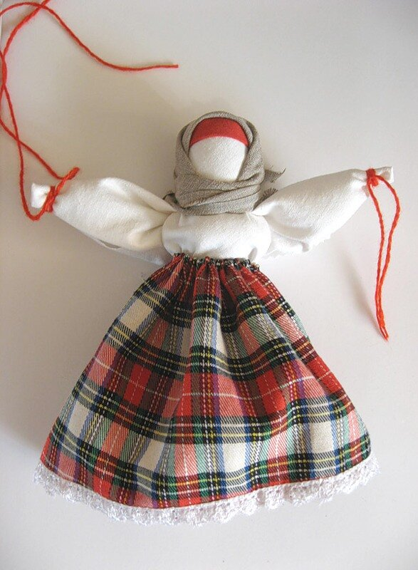 Куклы из ткани обереги мастер класс