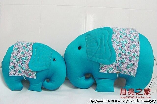 Игрушка слона своими руками
