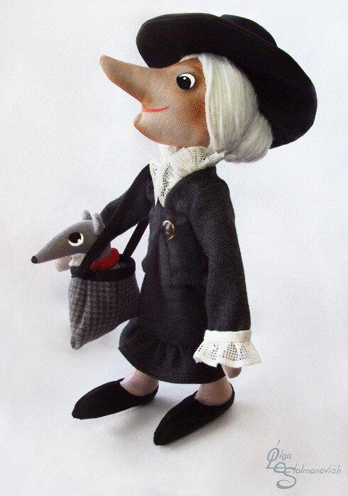 Как сшить куклу шапокляк