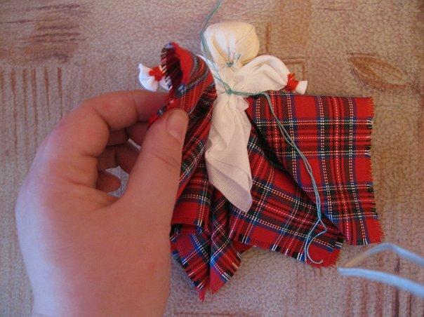 Изготовление куклы из ткани