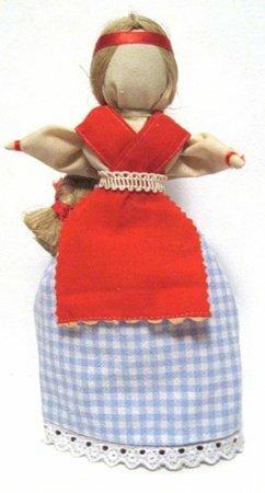 Кукла перевертыш: Девка-баба. Мастер-класс.