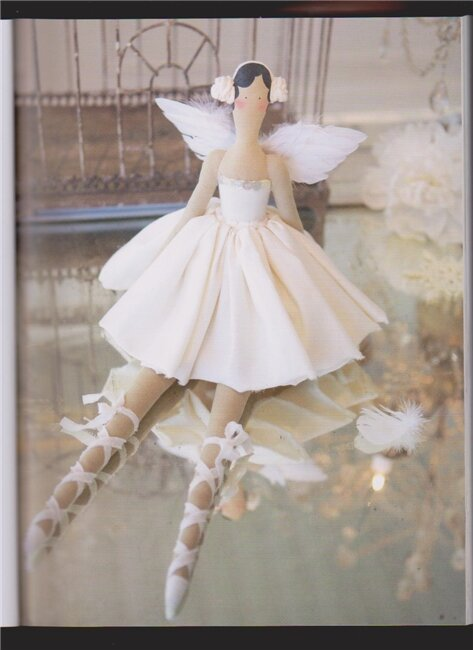 Выкройка на куклу тильду балерина