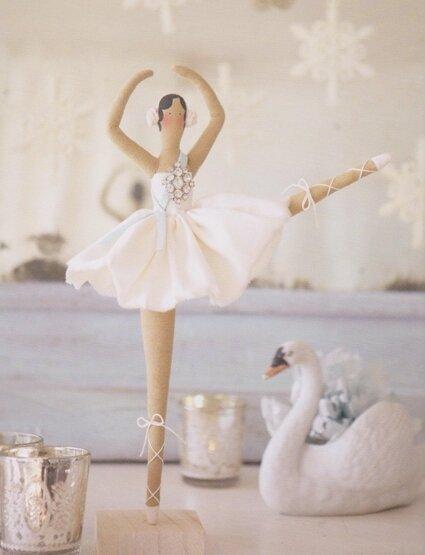 Куклы своими руками тильды балерина