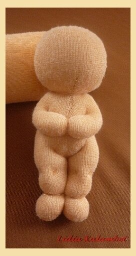 """схеме """"кукла из носочков"""","""
