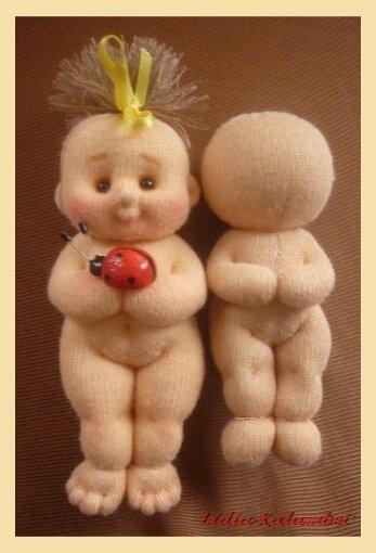 Мягкая игрушка малыш.