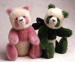 Мягкая игрушка панда – медведь. Выкройка