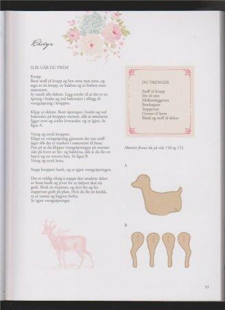 Cerfs du livre Tilda Tone Finnanger «Tildas Vintereventyr»