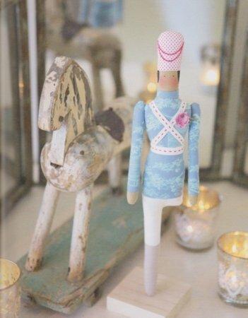 Тильда Endent Tinnsoldat (Одноногий Оловянный Солдатик) и Тильда Nøtteknekkeren (Щелкунчик): выкройки кукол