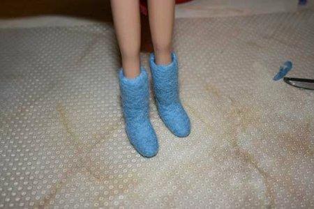 Как сделать валенки своими руками в домашних условиях для кукол
