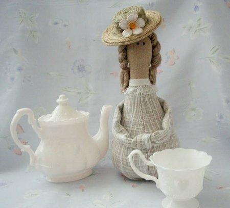 """Тильда """"Гостья к чаю"""": мастер-класс по шитью куклы"""