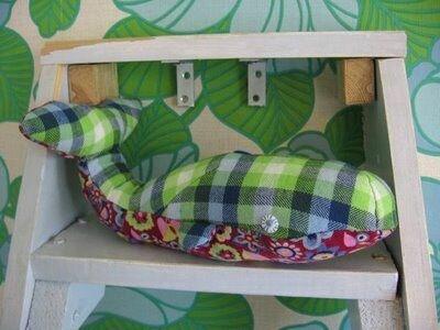 Игрушка подушка кит. Выкройка
