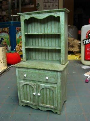 Шкаф для куклы своими руками под старину. Мастер-класс