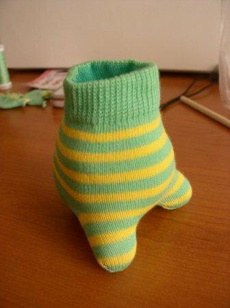 Зайчик из носков своими руками фото Зайчик из носка своими руками - мастер-класс с фото