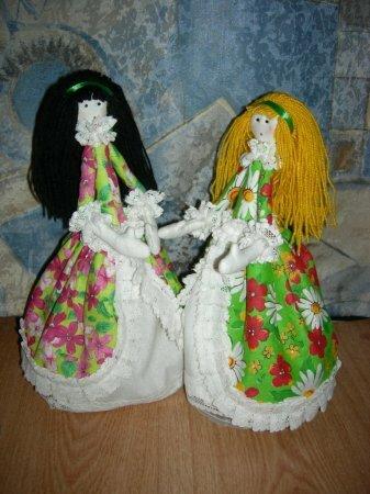Мягкие куклы статуэтки. Мастер-класс
