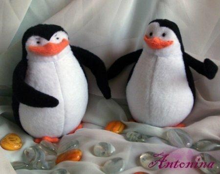 """""""Пингвины из Мадагаскара"""" мягкая игрушка. Мастер-класс"""