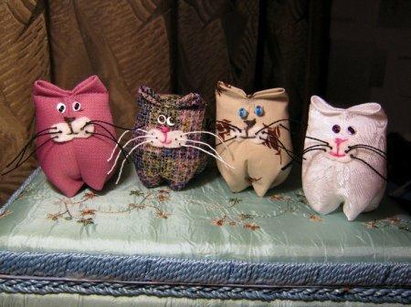 Котик на сувениры. Мастер-класс по пошиву