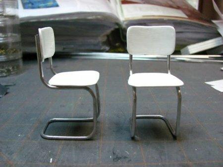 Как сделать стул для кукол. Мастер-класс.