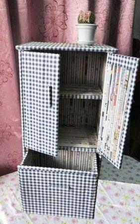Как сделать шкаф для куклы. Мастер-класс