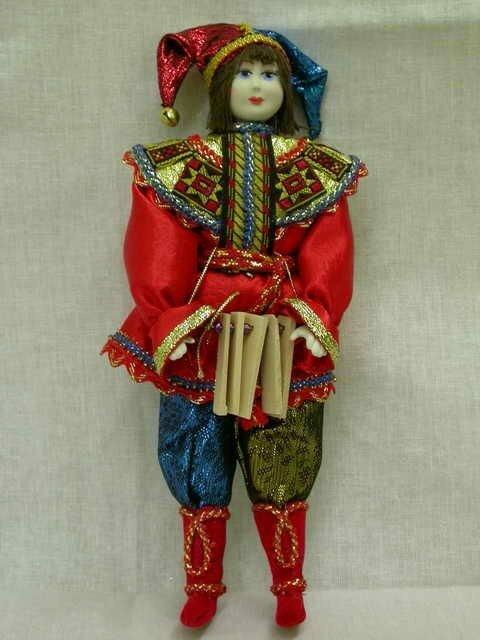 Кукла скоморох своими руками мастер класс 76