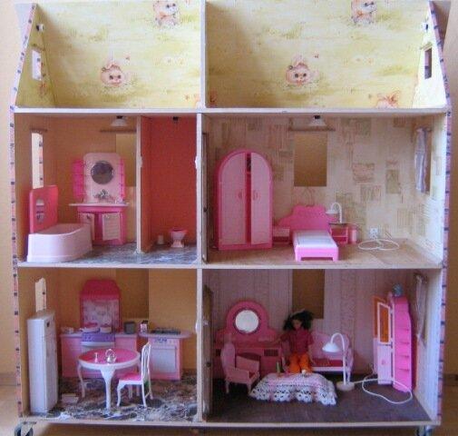 Как сделать дом для кукол барби своими руками в домашних условиях
