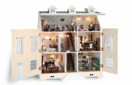 Картинки домиков для кукол