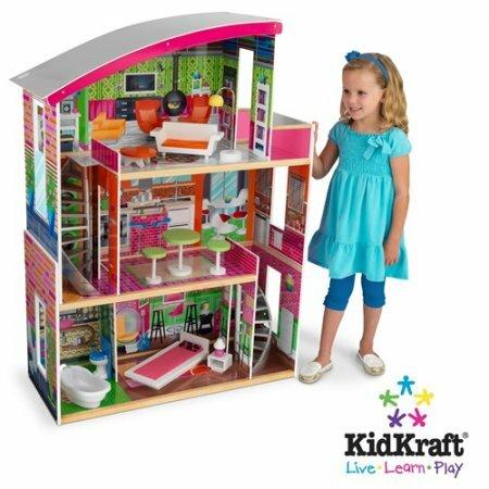 Как сделать красивый дом для кукол