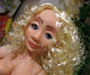 Как сделать волосы кукле. Мастер-класс.