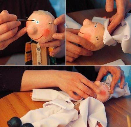 Кукла марионетка «Веселый Повар» - мастер-класс