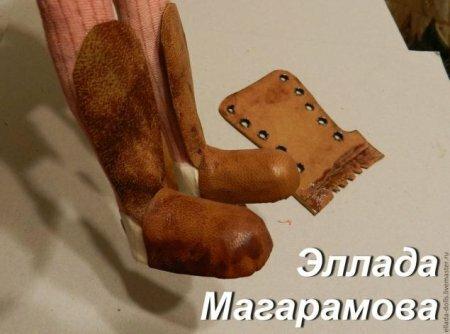 Сапоги для куклы своими руками – мастер-класс