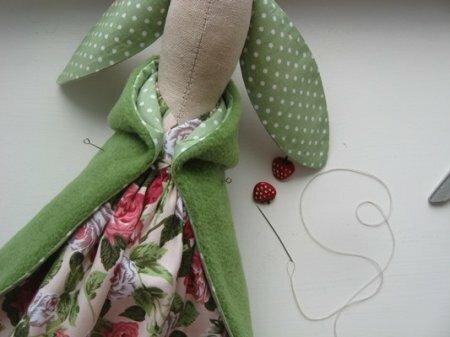 Тильда Заяц - мастер класс по пошиву игрушки