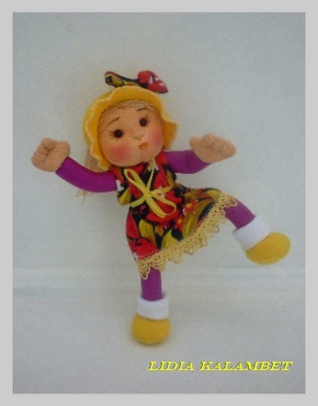 Развивающая кукла для малыша своими руками