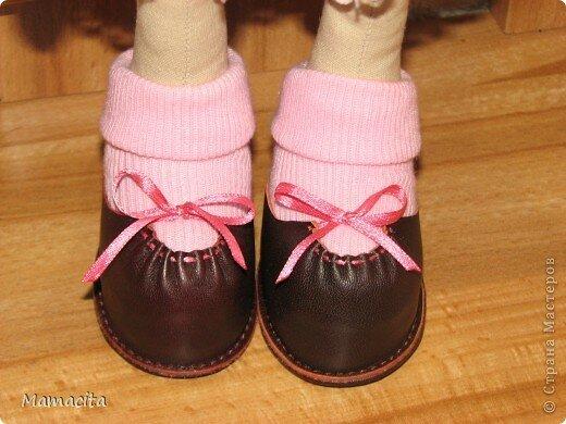 Обувь для куклы из фетра своими руками