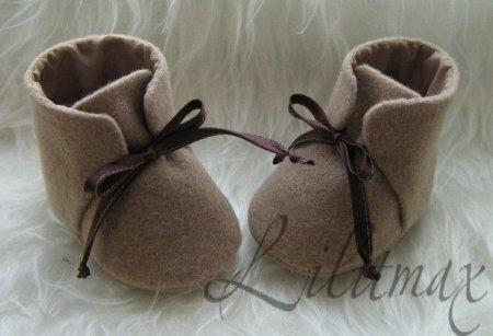 Ботинки для куклы – мастер-класс