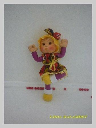 Развивающая кукла своими руками – Мастер-класс от Лидии Kalambet