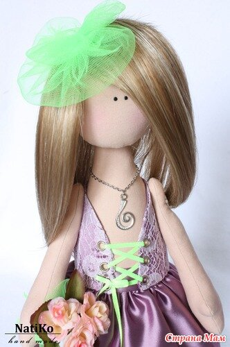 волосы для текстильной куклы мастер класс