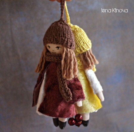 Как сделать маленькую куклу своими руками