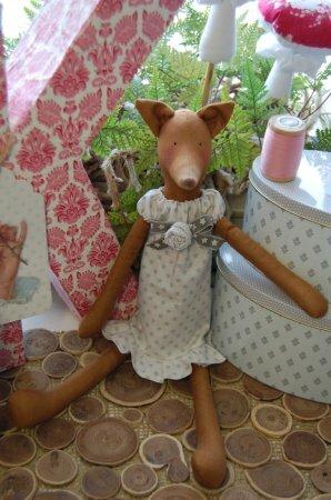 """Тильда Лиса: мастер-класс по шитью игрушки из книги """"Tildas Vintereventyr"""""""