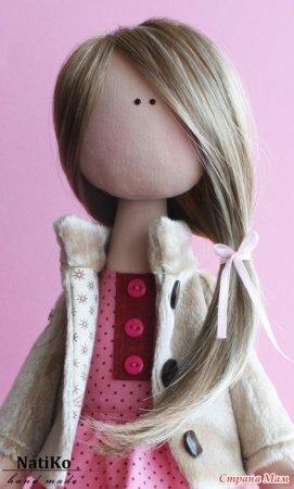 Волосы кукле из тресса - мастер класс по изготовлению