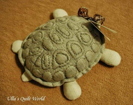 Выкройка мягкой игрушки - черепашки