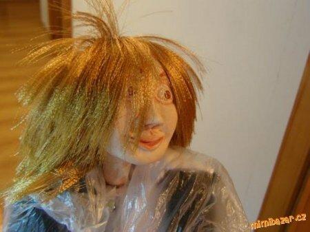 Мастер-класс по изготовлению волос для кукол из атласных лет