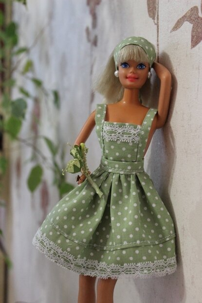 Как сшить для куклы платье мастер классы
