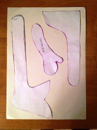 Мастер-класс по шитью Снежной девочки. Автор Макеева Елена