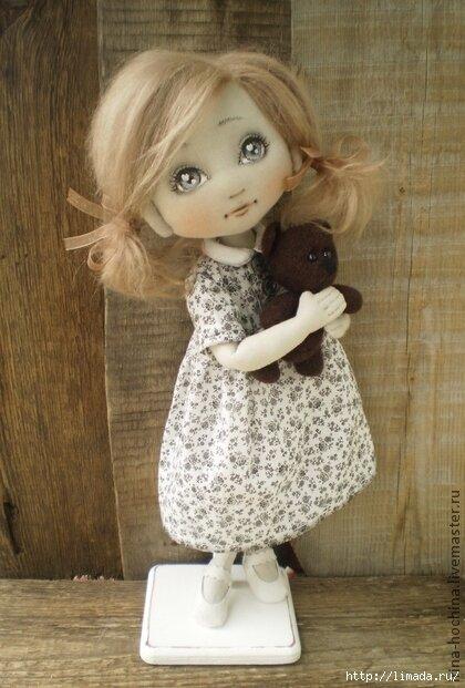 Выкройки текстильных кукол