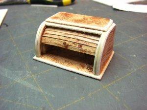 Функциональная хлебница от автора кукольной миниатюры Kris Compas
