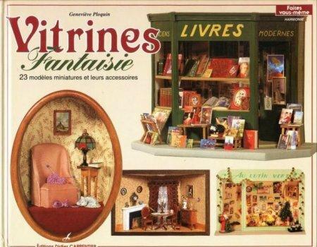 Журнал «Vitrines Fantaisie», посвящённый созданию кукольных витрин