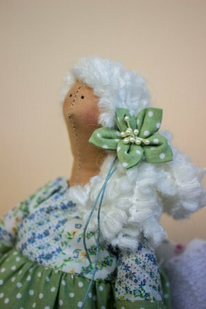 Тильда беременная: выкройка и мастер-класс по шитью куклы от Анастасии <i>выкройка</i> Коломакиной